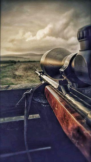Обои на телефон охота, оружие