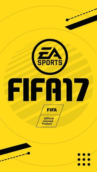 Обои на телефон черные, фон, фифа, спортивные, игра, желтые, абстрактные, fifa 17 background, fifa 17, ea sports, ea