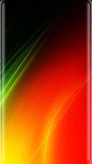 Обои на телефон оранжевые, свет, зеленые, абстрактные