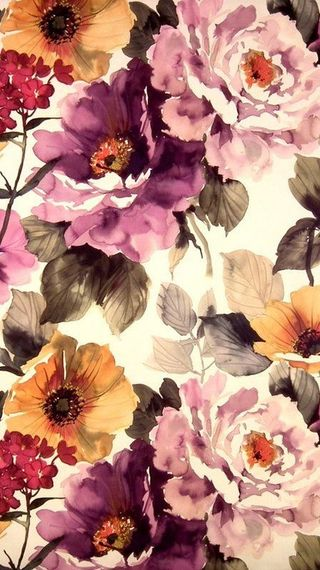 Обои на телефон цветы, muted