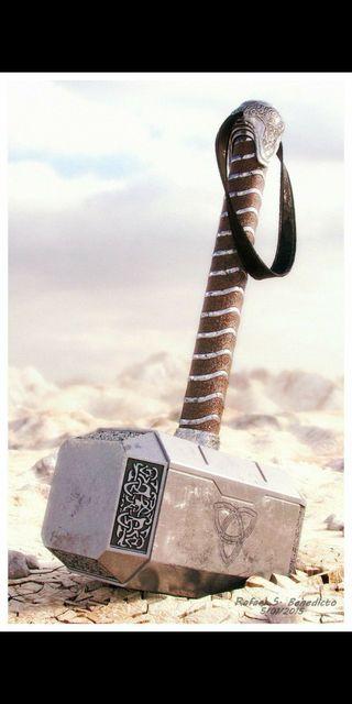 Обои на телефон тор, мстители, молот, thor hammer