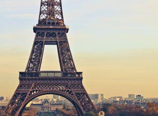 Обои на телефон винтаж, париж, башня