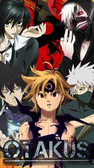 Обои на телефон мелиодас, кира, канеки, какаши, демон, герои, аниме, yuno, otakus, meliodas kakashi l, kakashi senpai