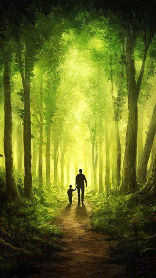 Обои на телефон отец, бог, son, searching for god, search