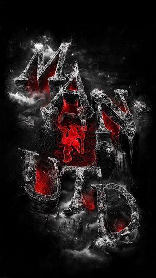 Обои на телефон юнайтед, мю, красые, red devils