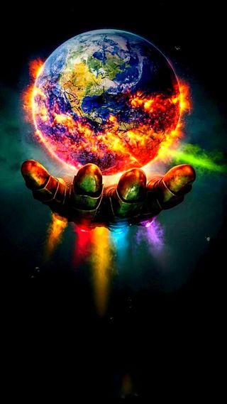 Обои на телефон финал, танос, мстители, марвел, земля, бесконечность, marvel, destruction, avengers 3