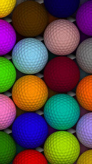 Обои на телефон гольф, красочные, holes, course, colorful golf