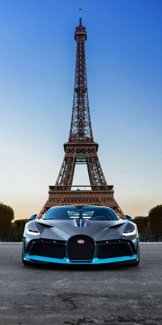 Обои на телефон суперкары, роскошные, париж, город, бугатти, башня, автомобили, luxury, divo, bugatti