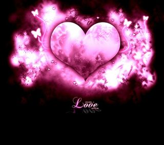 Обои на телефон светящиеся, сердце, любовь, дизайнерские, love, hd, designer heart