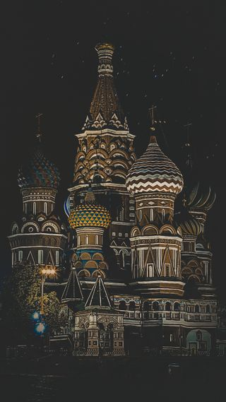 Обои на телефон россия, moscow, kremlin, cathedral
