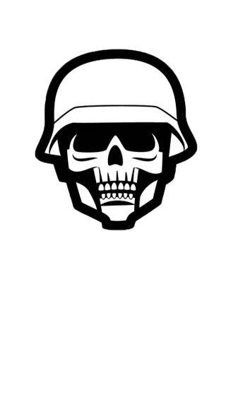 Обои на телефон немецкие, череп, солдат, металл, крутые, война, абстрактные, ww2