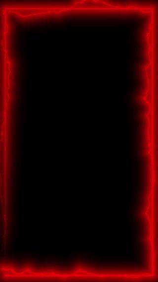 Обои на телефон неоновые, граница, грани, neon border