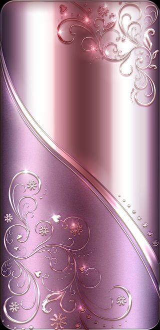 Обои на телефон розовые, сердце, фиолетовые, сверкающие, сияние, бриллиант, святыня