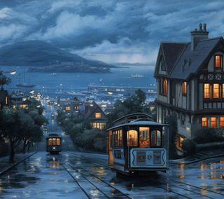 Обои на телефон природа, пейзаж, дождь, sanfrancisco rain hd, hd