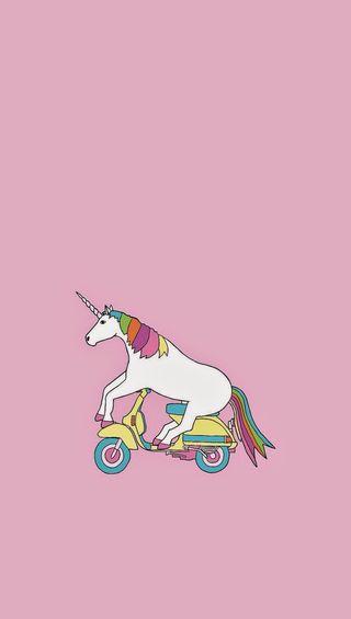 Обои на телефон единорог, милые, красочные, велосипед, unicorn on bicycle