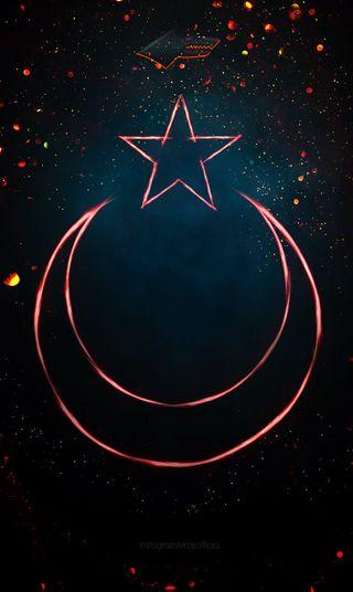 Обои на телефон турецкие, лунная звезда, ататюрк, ulkucu, turk ayyildiz, hilal, bozkurt