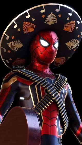 Обои на телефон гитара, человек паук, паук, мстители, мексиканские, марвел, ли, комиксы, железный, stan lee, marvel, iron spider