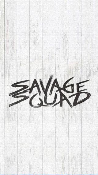 Обои на телефон простые, отряд, дикий, savage squad