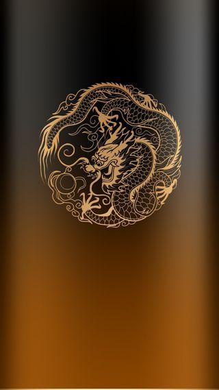 Обои на телефон стиль, омбре, красота, коричневые, дракон, дизайн, грани, абстрактные, s7, edge style, dragon, beauty design