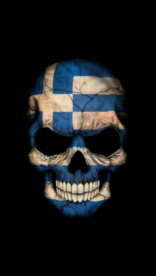 Обои на телефон греческий, греция, война, череп, ermak86