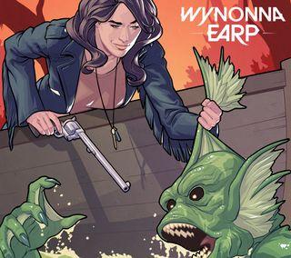Обои на телефон monster, netflix, wynonna in the swamp, комиксы, тв, зомби, вестерн, телевидение