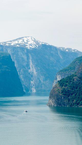 Обои на телефон горы, природа, пейзаж, норвегия, море, fjord ferry, fjord