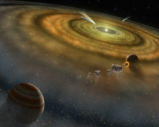Обои на телефон солнечный, система, планеты, космос