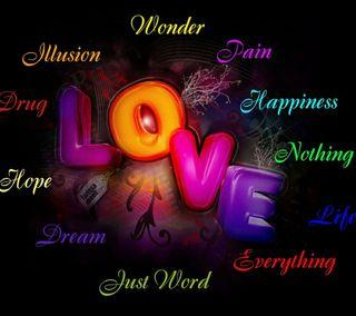 Обои на телефон слова, любовь, words of love, of love