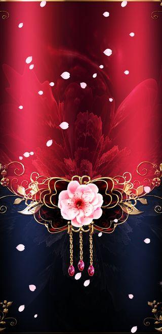 Обои на телефон девчачие, цветы, цветочные, симпатичные, розовые, красые, золотые, floral pin