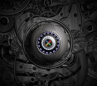 Обои на телефон механизм, стальные, металл, логотипы, гугл, nexus, google, clockwork nexus