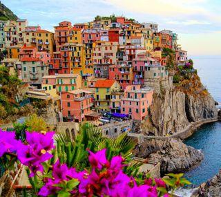 Обои на телефон цвета, цветы, пляж, море, классные, город, port