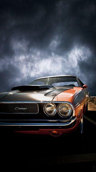 Обои на телефон челленджер, машины, классика, classic car