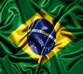 Обои на телефон флаг, бразилия