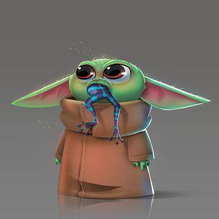 Обои на телефон рождество, мультфильмы, мандалорец, малыш, лягушка, королева, йода, дисней, джокер, perfect, disney, baby yoda frog