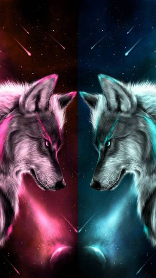 Обои на телефон против, солнце, земля, волк, earth vs sun
