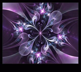 Обои на телефон фиолетовые, абстрактные