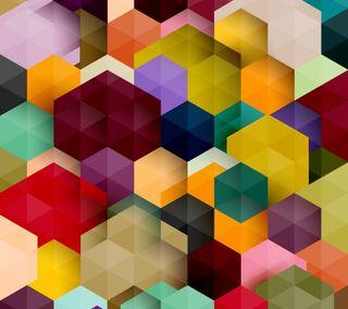 Обои на телефон геометрические, фон, красочные, абстрактные, geometric abstract, colorful geometric