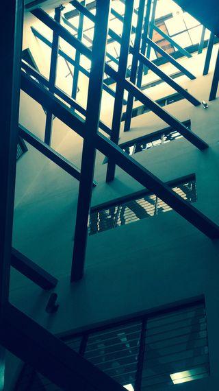 Обои на телефон архитектура, стекло, солнце, здания, железный