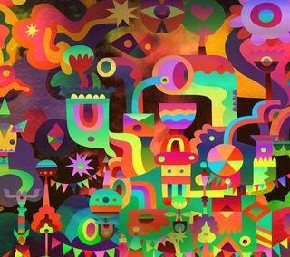 Обои на телефон самсунг, коллаж, галактика, арт, абстрактные, samsung, note, galaxy, art, abstract note 3