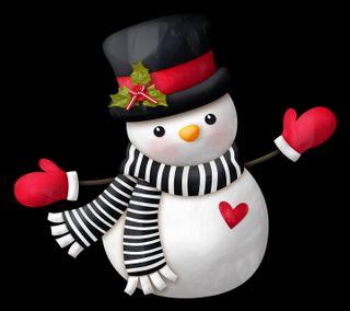 Обои на телефон каникулы, счастливые, снеговик, сердце, рождество, милые, любовь, love, happy