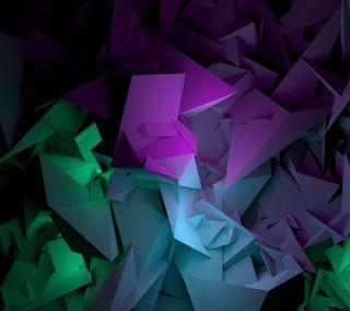 Обои на телефон формы, фиолетовые, синие, приятные, зеленые, взгляд, арт, абстрактные, hd, good, art