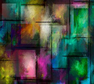 Обои на телефон кубы, цвета, абстрактные