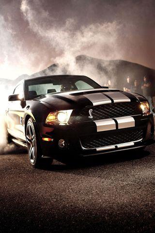 Обои на телефон шелби, черные, форд, спортивные, мустанг, мускул, машины, дрифт, гоночные, mustang, gt500, ford