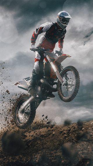 Обои на телефон трюки, мотоциклы, мотокросс, классика, байк, motocross 4k
