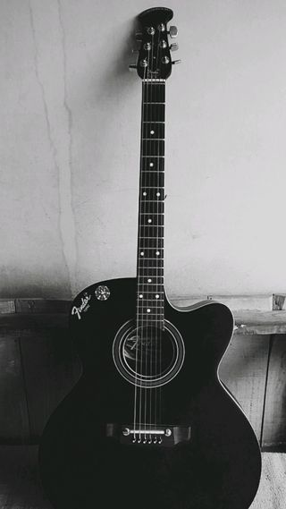 Обои на телефон гитара, черные, соло, новый, hd