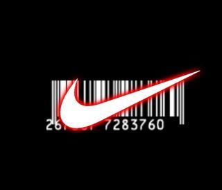Обои на телефон код, черные, найк, логотипы, другие, бар, nike barcode, nike, bar-code