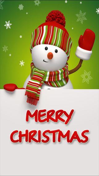 Обои на телефон пожелание, счастливое, снежинки, снеговик, слова, рождество, праздник