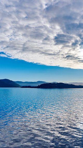 Обои на телефон ок, спокойствие, синие, озеро, лето, красота, классные, вода, вид