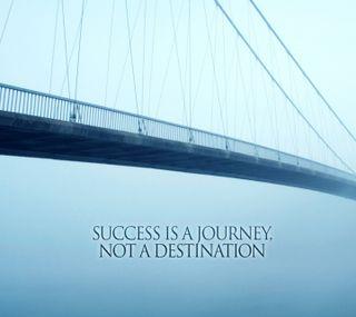Обои на телефон успех, цитата, поездка, success is, destination