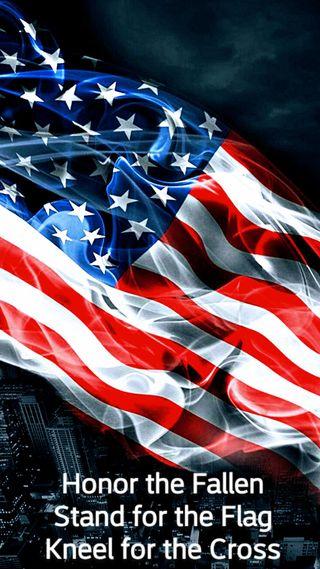 Обои на телефон путь, флаг, американские, american way